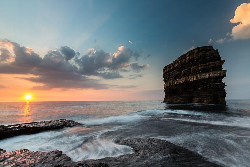 North Mayo Sea Stack by Nick Brooker